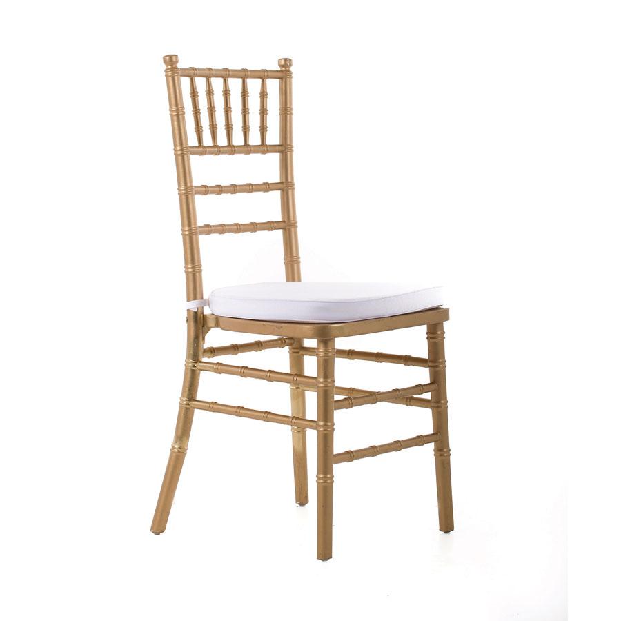 Gold tiffany with cushionChair Hire   Cloud Nine Weddings. Tiffany Wedding Chair Hire Melbourne. Home Design Ideas