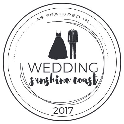 Sunshine Coast Weddings Featured in Badge